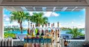 Relax at the Bayside Bar at Grotto Bay, Bermuda