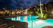Beautiful pool area at Grotto Bay, Bermuda