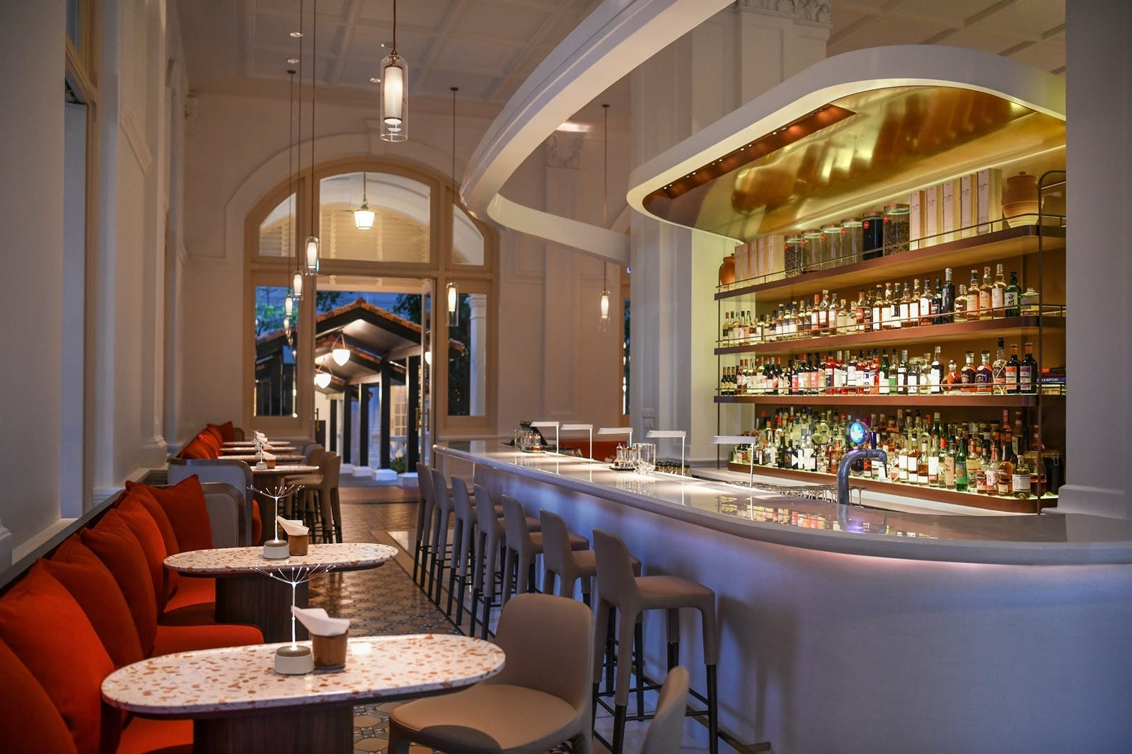BBR by Alain Ducasse Bar, Raffles Singapore