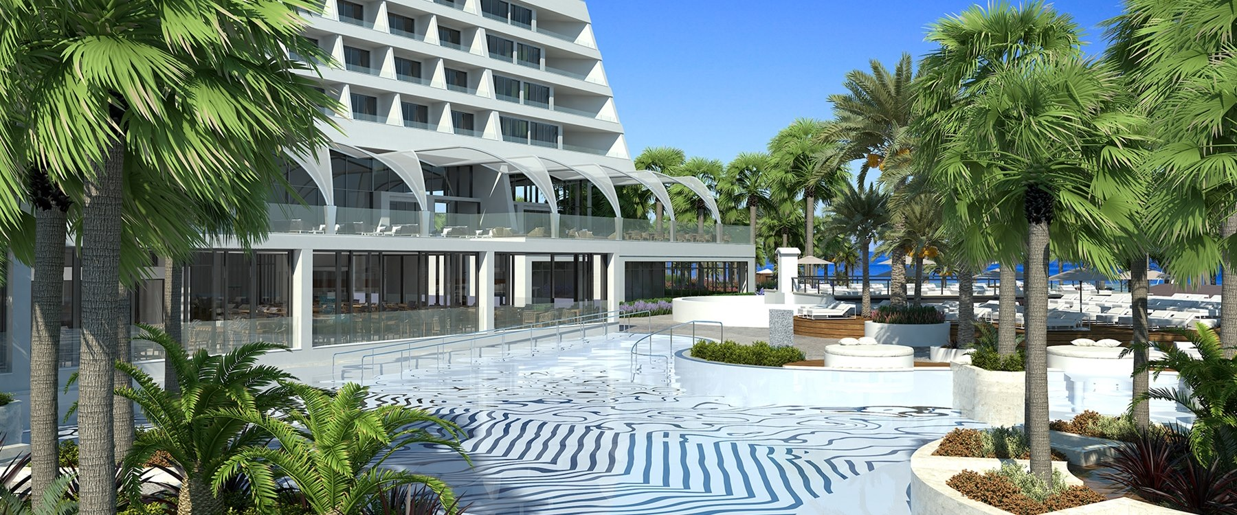 Parklane a luxury collection resort cyprus luxury holiday - Intercontinental park lane swimming pool ...
