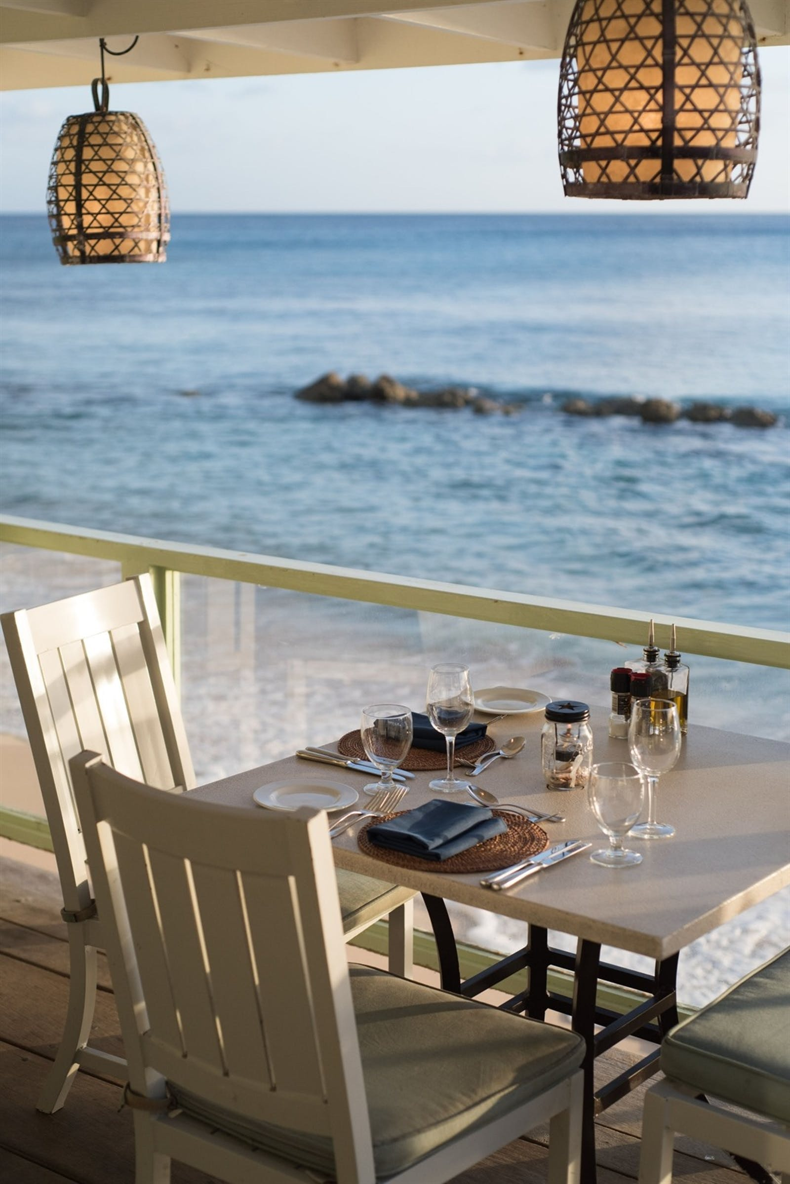 Dinner with a View at Little Good Harbour, Barbados