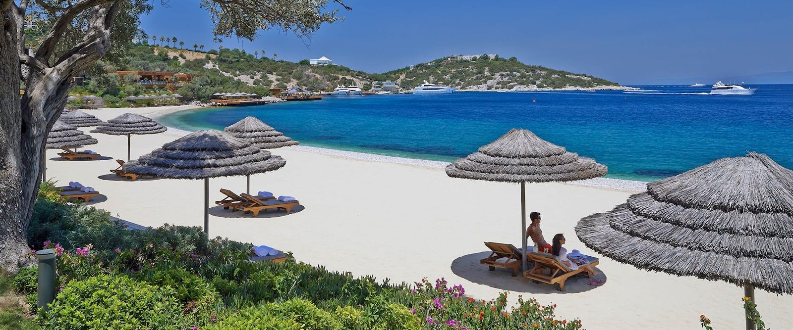 The Beach at Mandarin Oriental Bodrum, Turkey
