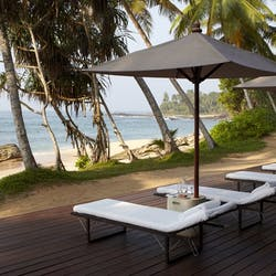 Inside the Beach Club at Amanwella, Sri Lanka