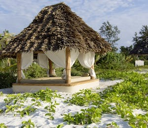 Beach Hut at Zanzibar White Sand Luxury Villas and Spa