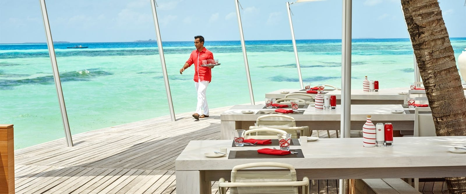 Beach Rouge at LUX* South Ari Atoll, Maldives, Indian Ocean
