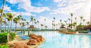 Pool at Beach Tower at Atlantis, Bahamas
