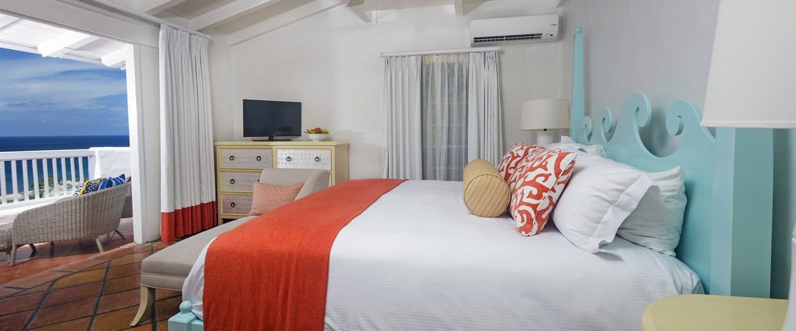 Villa Bedroom at Windjammer Landing