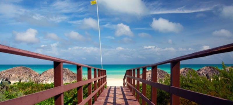 Walkway to the beautiful beach at Royalton Cayo Santa Maria