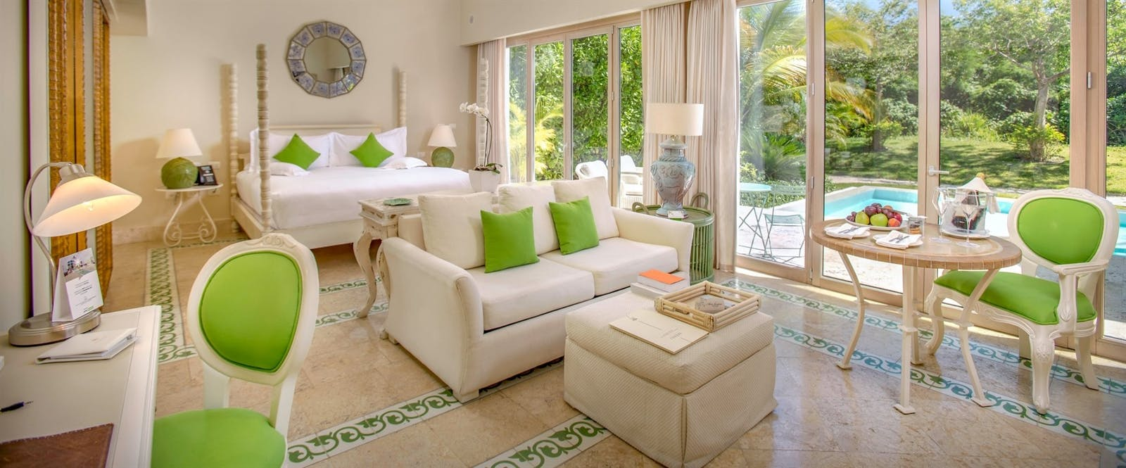 Luxury Pool Junior Suite at Eden Roc at Cap Cana Boutique Suites & Beach Club, Dominican Republic