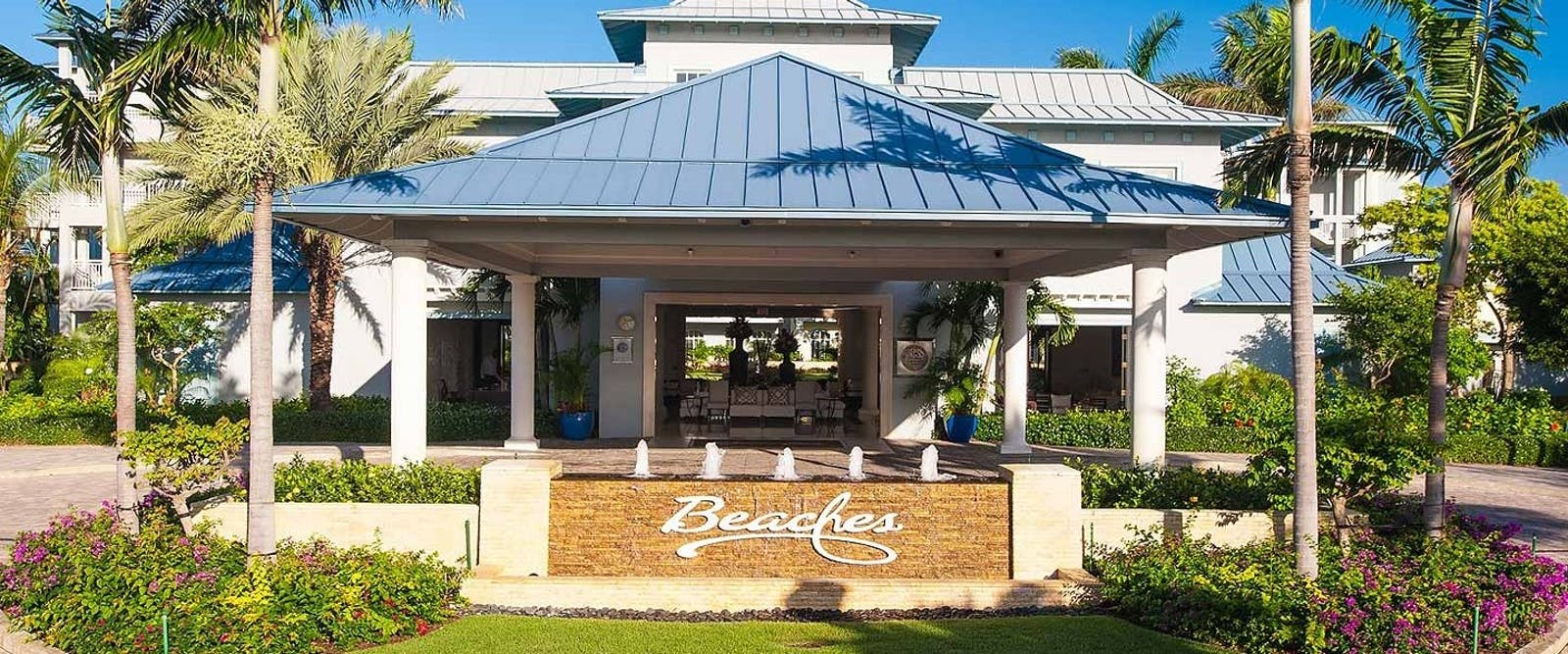 Entrance to Beaches Turks & Caicos Resort Villages & Spa