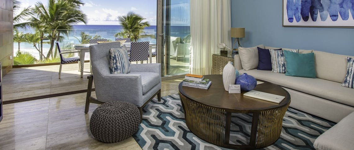 Living Room -  Beachfront Suite