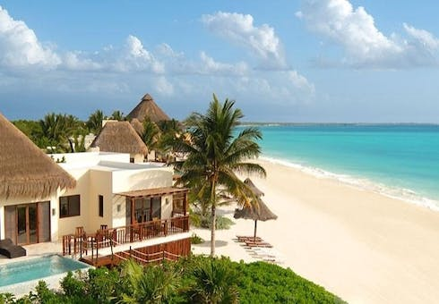 The Beach at Fairmont Mayakoba, Riviera Maya, Mexico