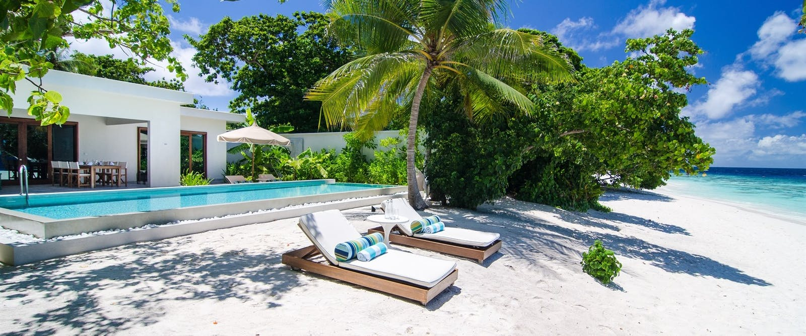 Beach House at Amilla Fushi, Maldives, Indian Ocean