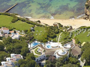 Aerial view of Vila Vita Parc, Algarve