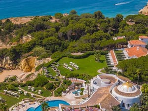 aerial view of vila vita parc algarve