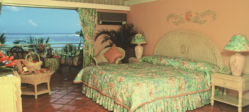 Bedroom at Coco Reef Resort