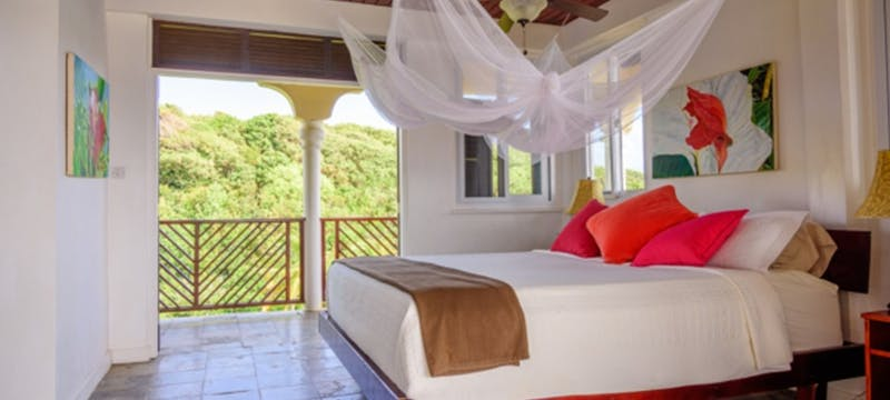 Bedroom at Calibishie Cove