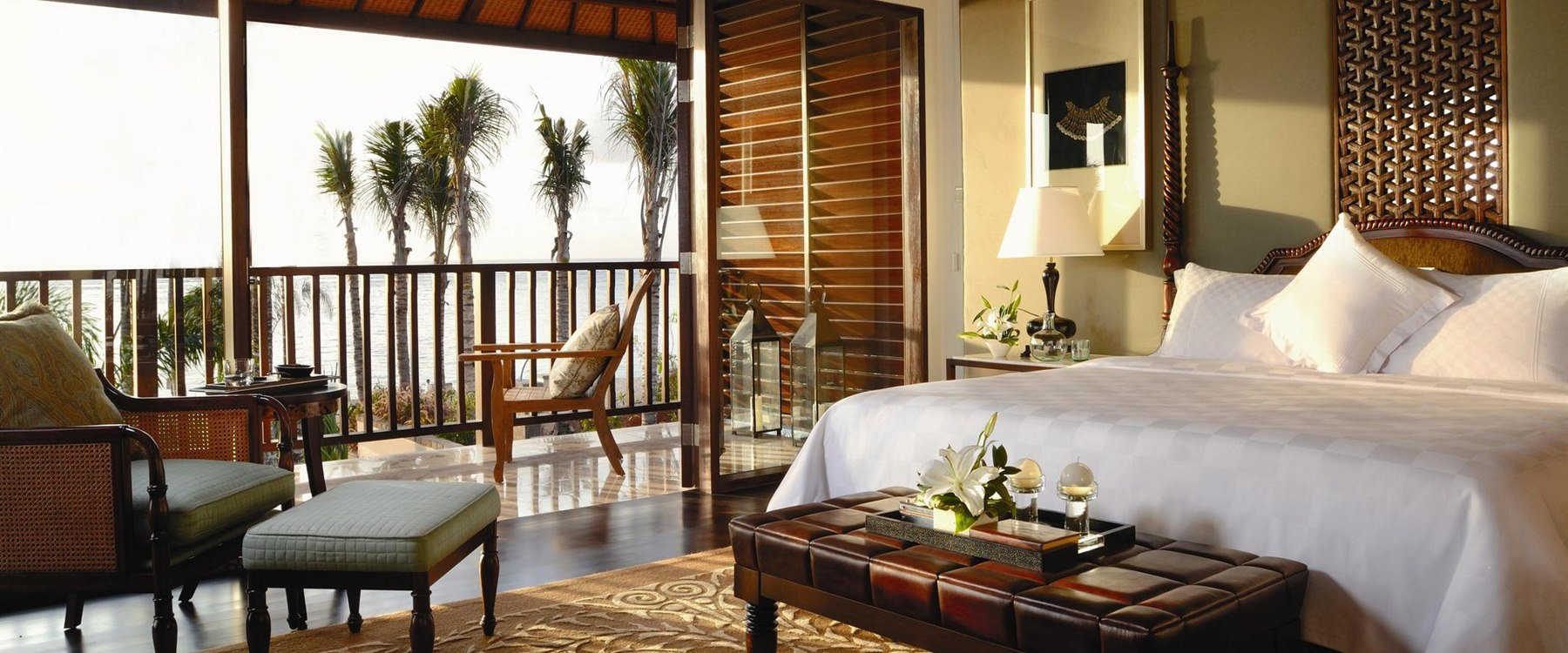 bedroom at The St Regis Bali Resort
