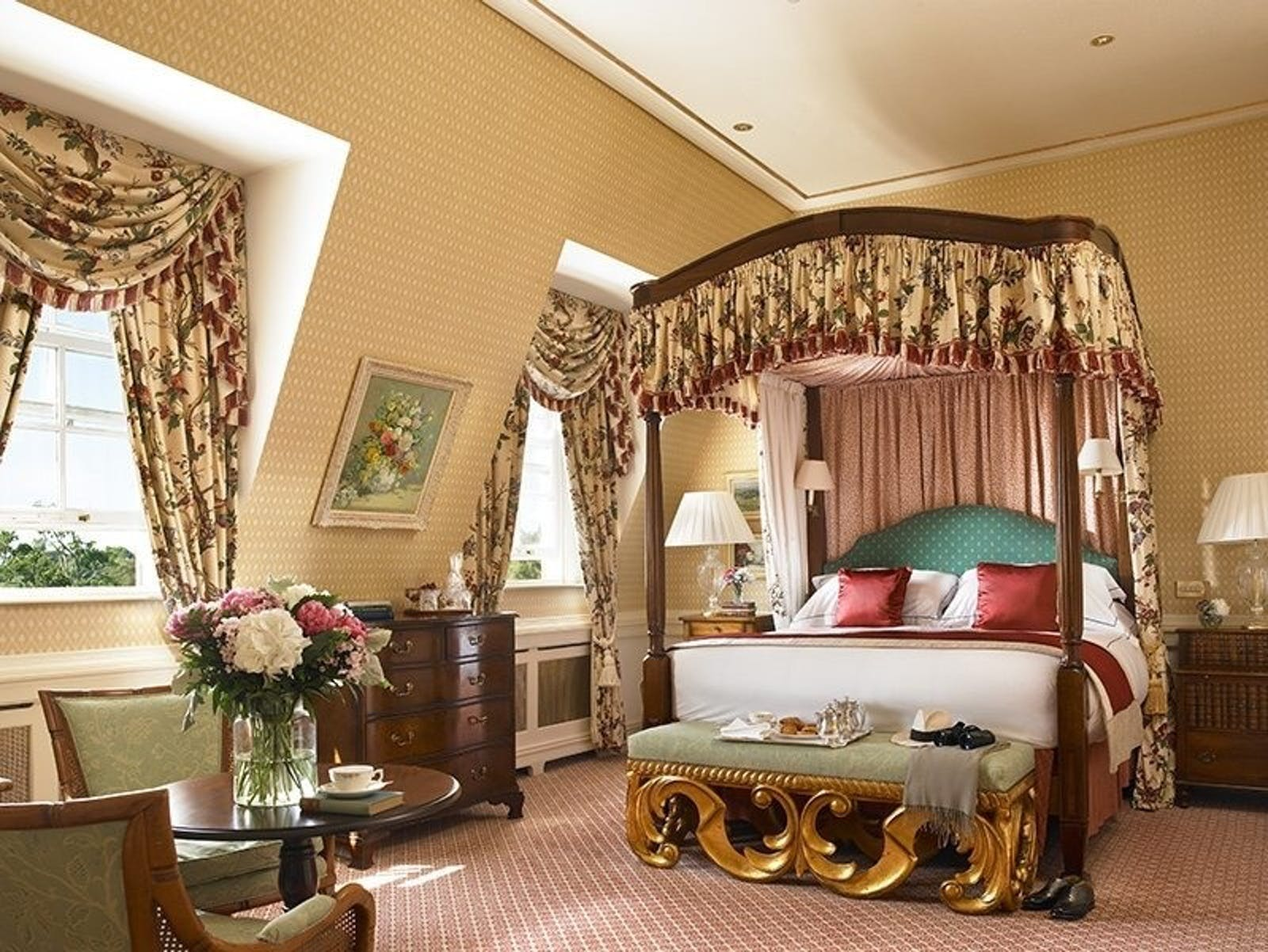 Presidential Suite at The K Club Hotel, Ireland
