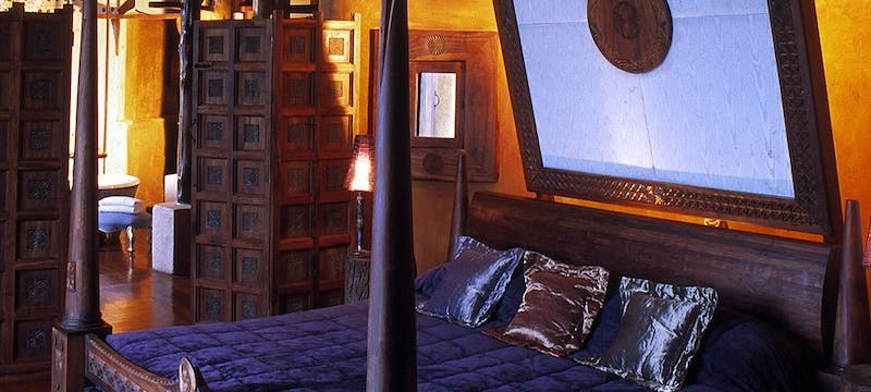 Bedroom at &Beyond Ngorongoro Crater Lodge