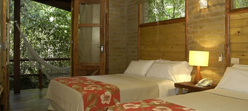 bedroom, La Aldea de la Selva Lodge