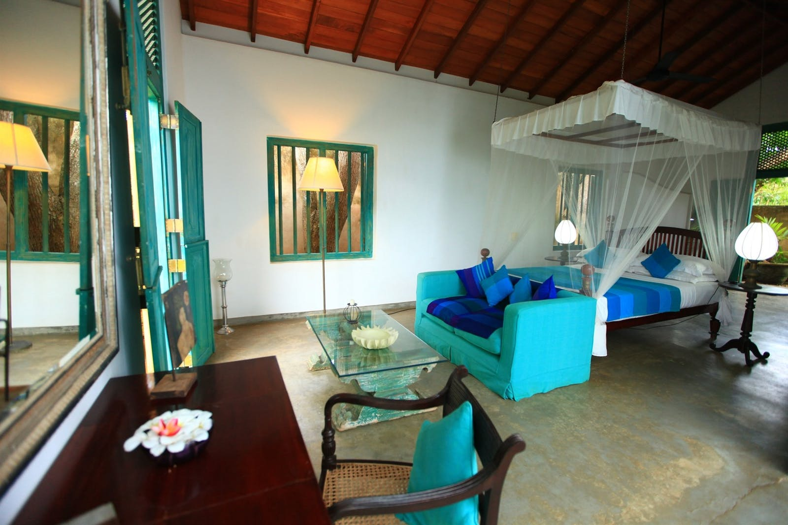 Bedroom Accommodation, The Last House, South Coast Beaches, Tangalle, Sri Lanka