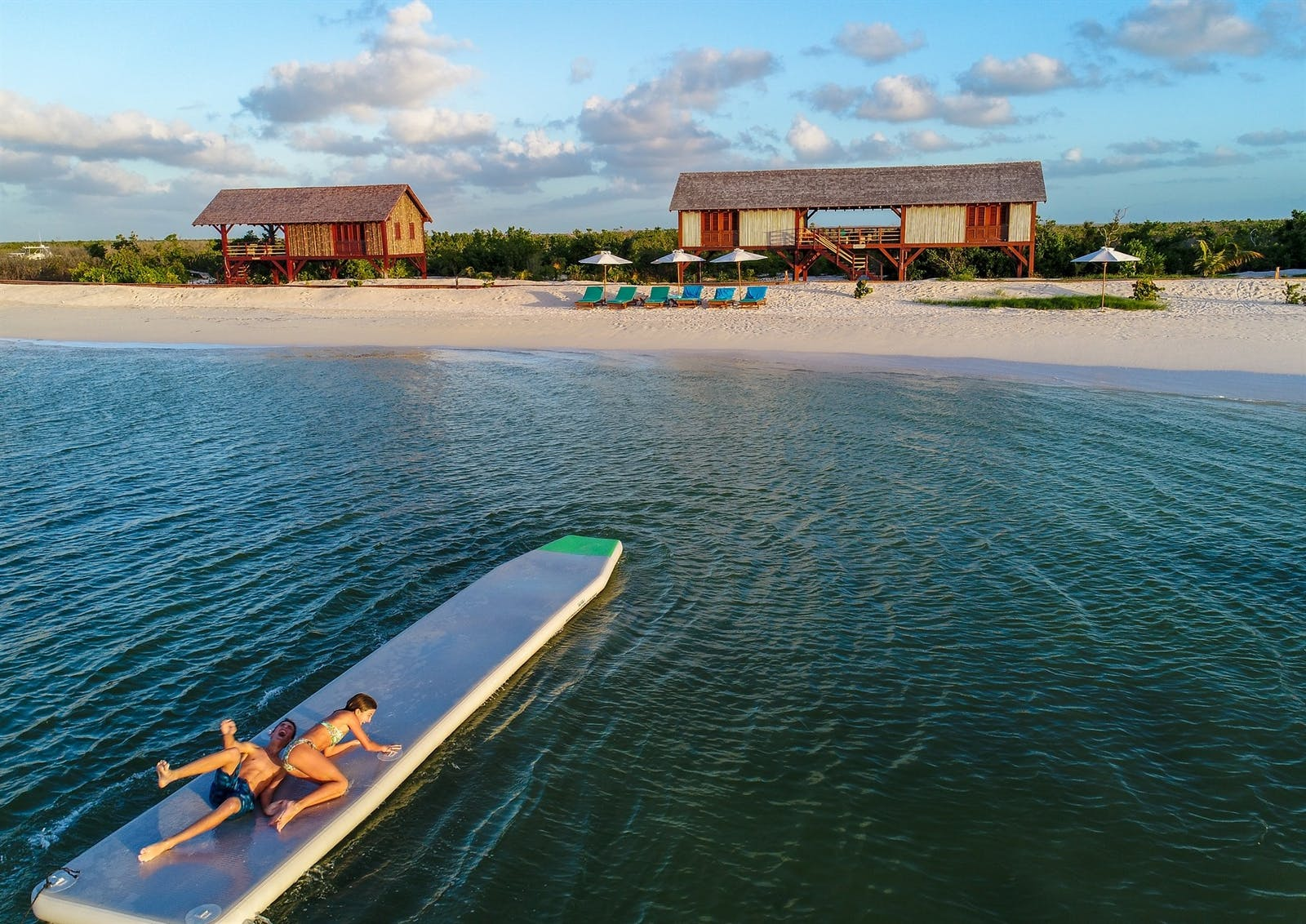 Activities at Barbuda Belle, Caribbean