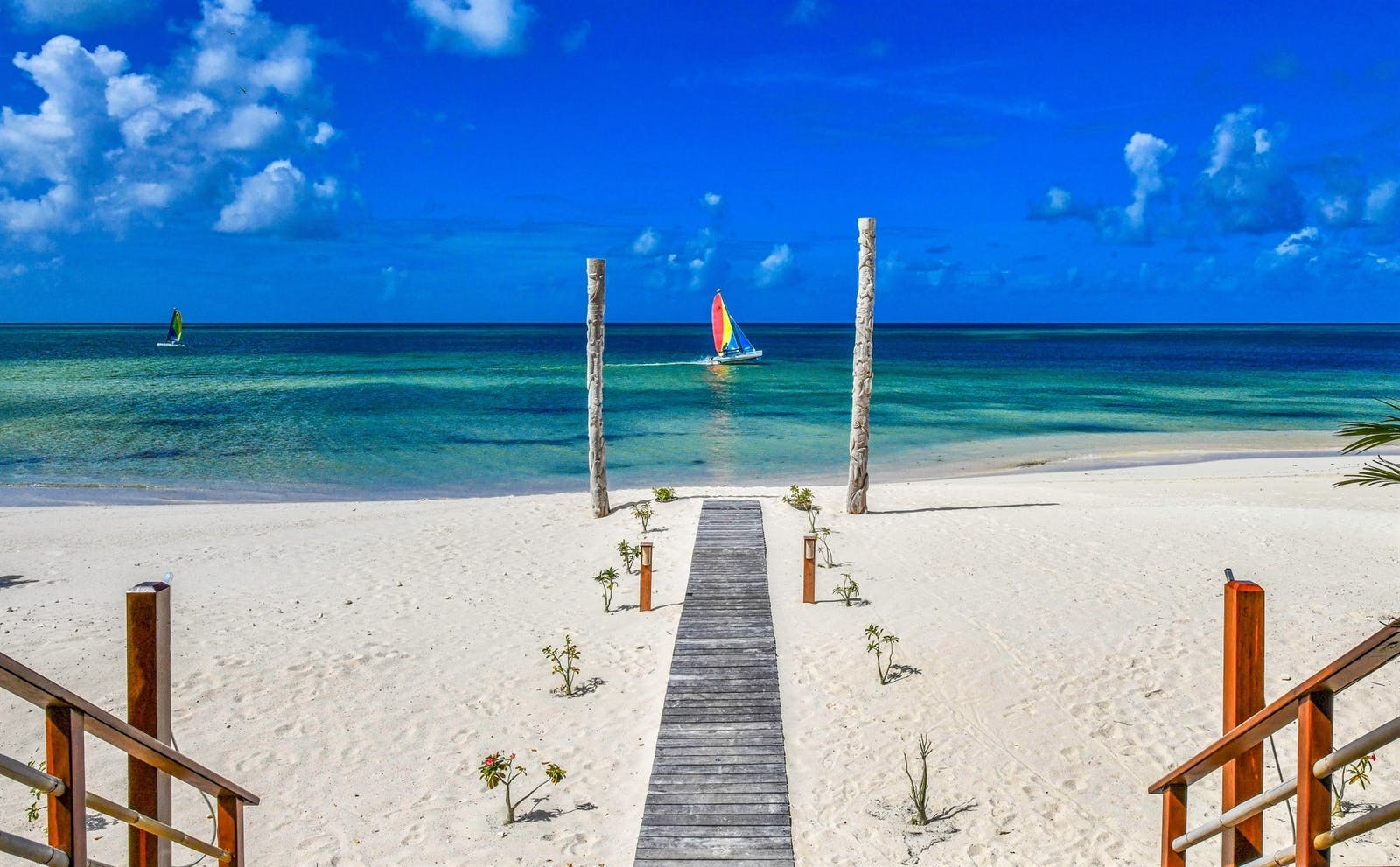 Beach Front at Barbuda Belle, Caribbean