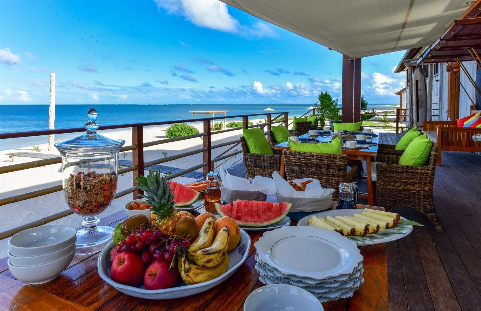 Breakfast at Barbuda Belle, Caribbean