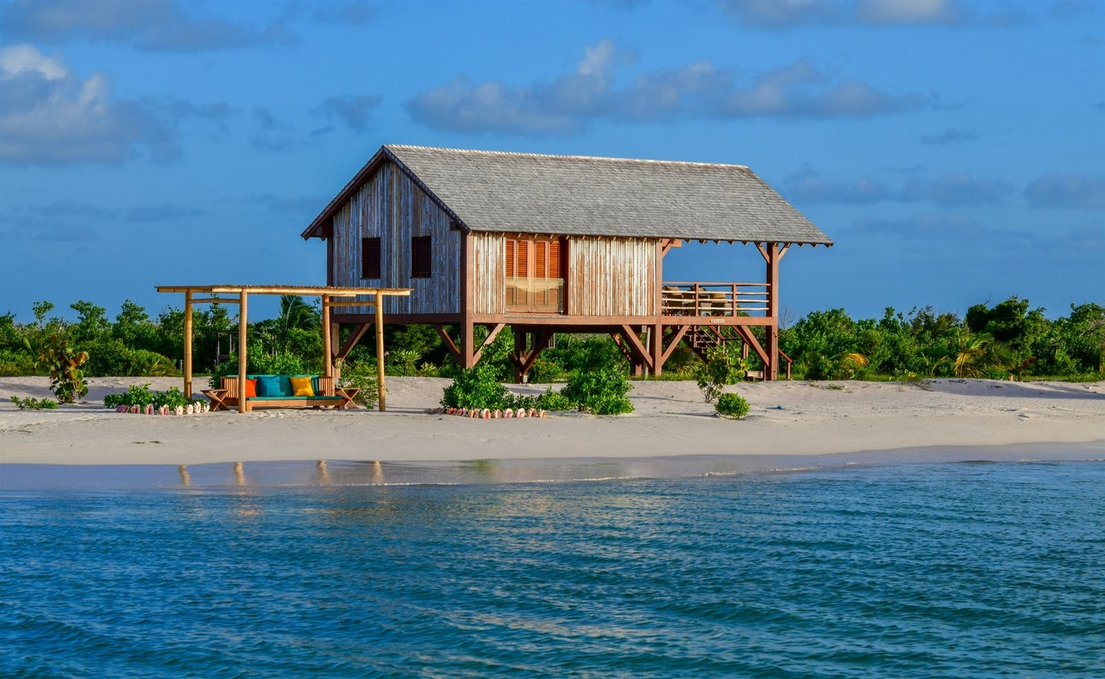 Beachfront Bungalows at Barbuda Belle, Caribbean
