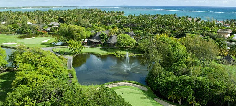 Garden view at Constance Belle Mare Plage, Mauritius