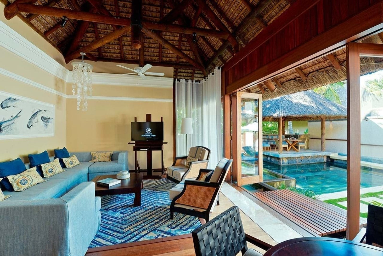 Villa at Constance Belle Mare Plage, Mauritius
