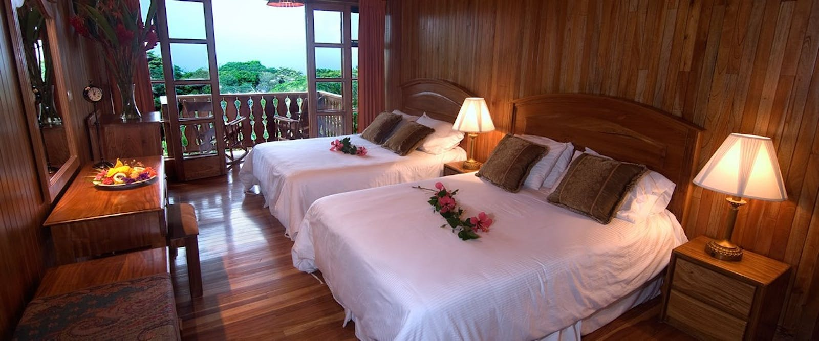 bedroom at Hotel Belmar, Costa Rica