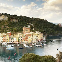 Beautiful View of Harbour at Belmond Splendido Mare, Portofino, Italy