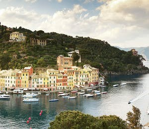 Beautiful view of harbour at Belmond Splendido Mare, Portofinp