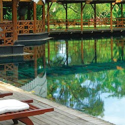 Swimming pool at Belmond Governor's Residence, Burma, Asia