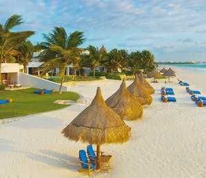Beach overview at Belmond Maroma Resort & Spa, Riviera Maya, Mexico