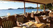 Dine beach-side at Bagatelle, Bequia Beach Hotel
