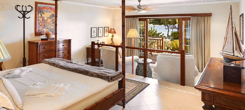 A Beach Front Suite at Bequia Beach Hotel
