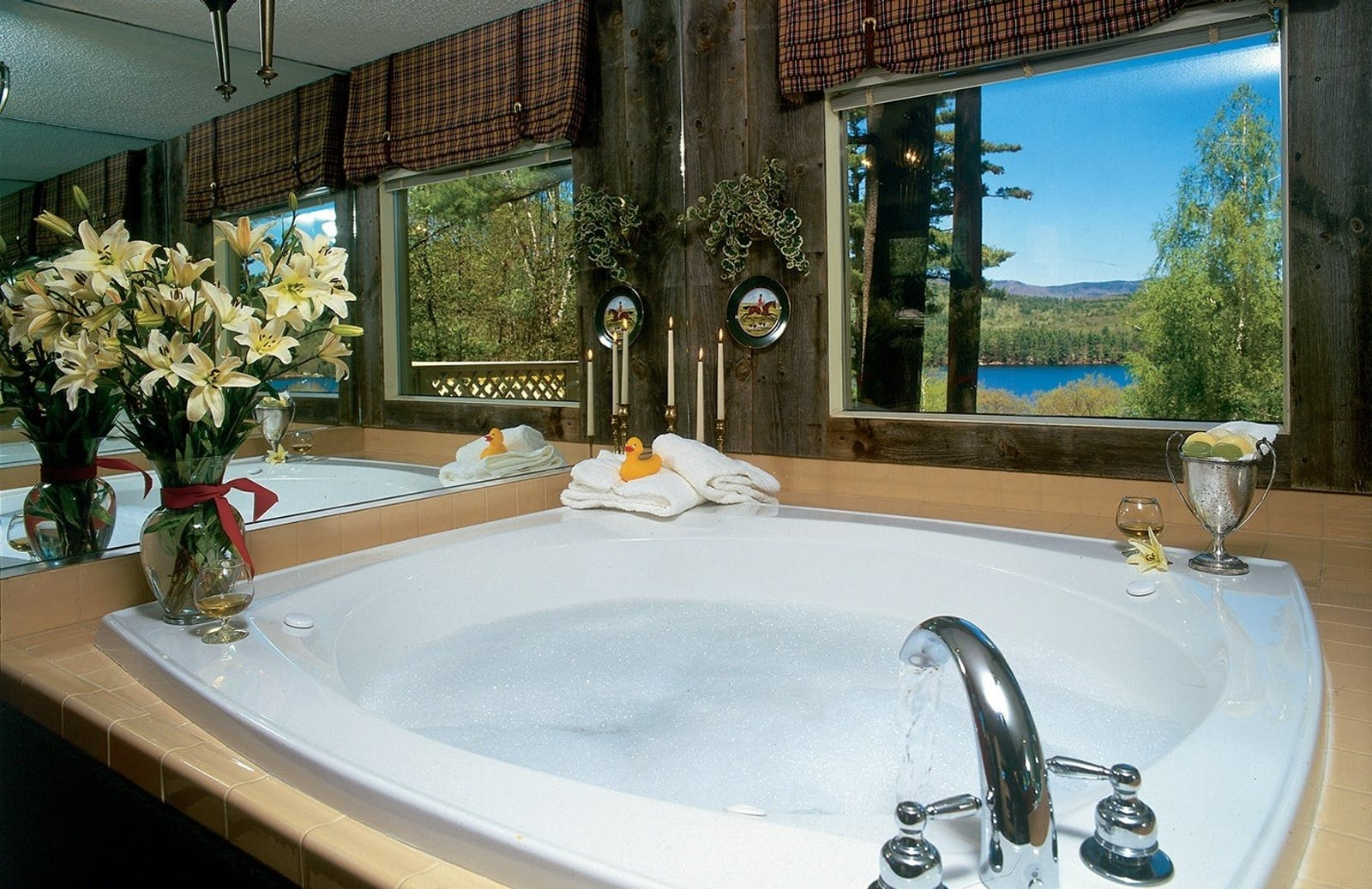 Berkshire Bathroom at Manor on Golden Pond, New Hampshire