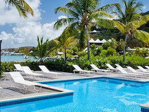 Poolside at Bitter End Yacht Club, British Virgin Islands