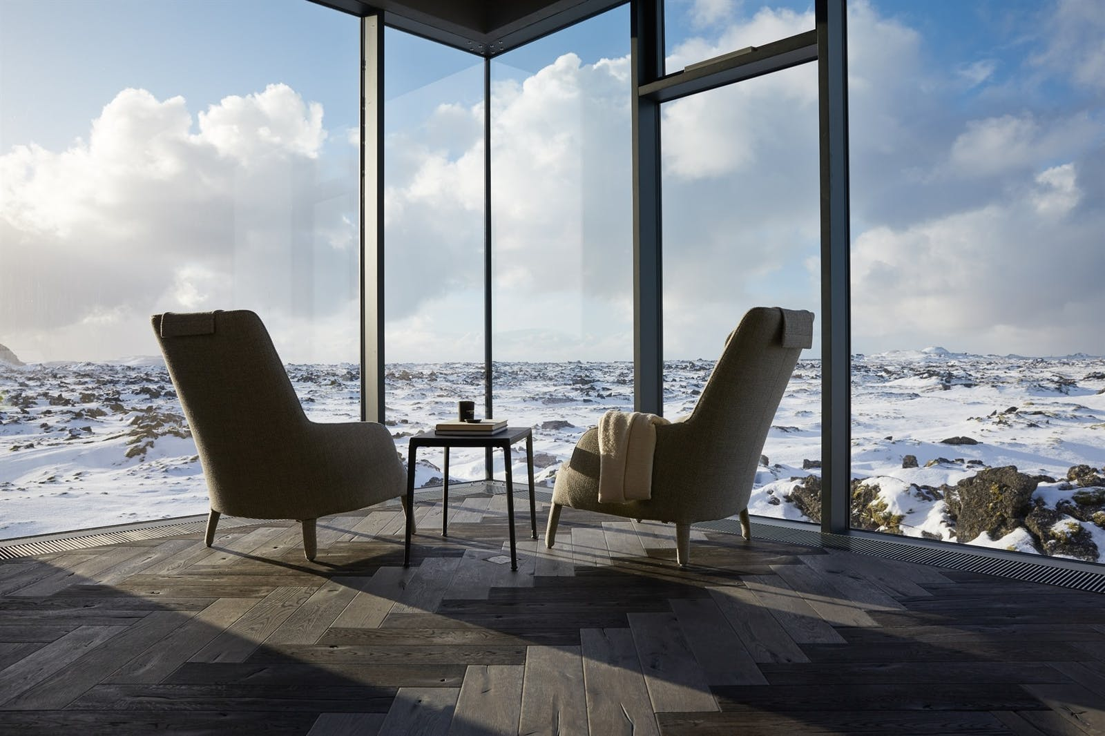 Seating area, Retreat Hotel, Iceland