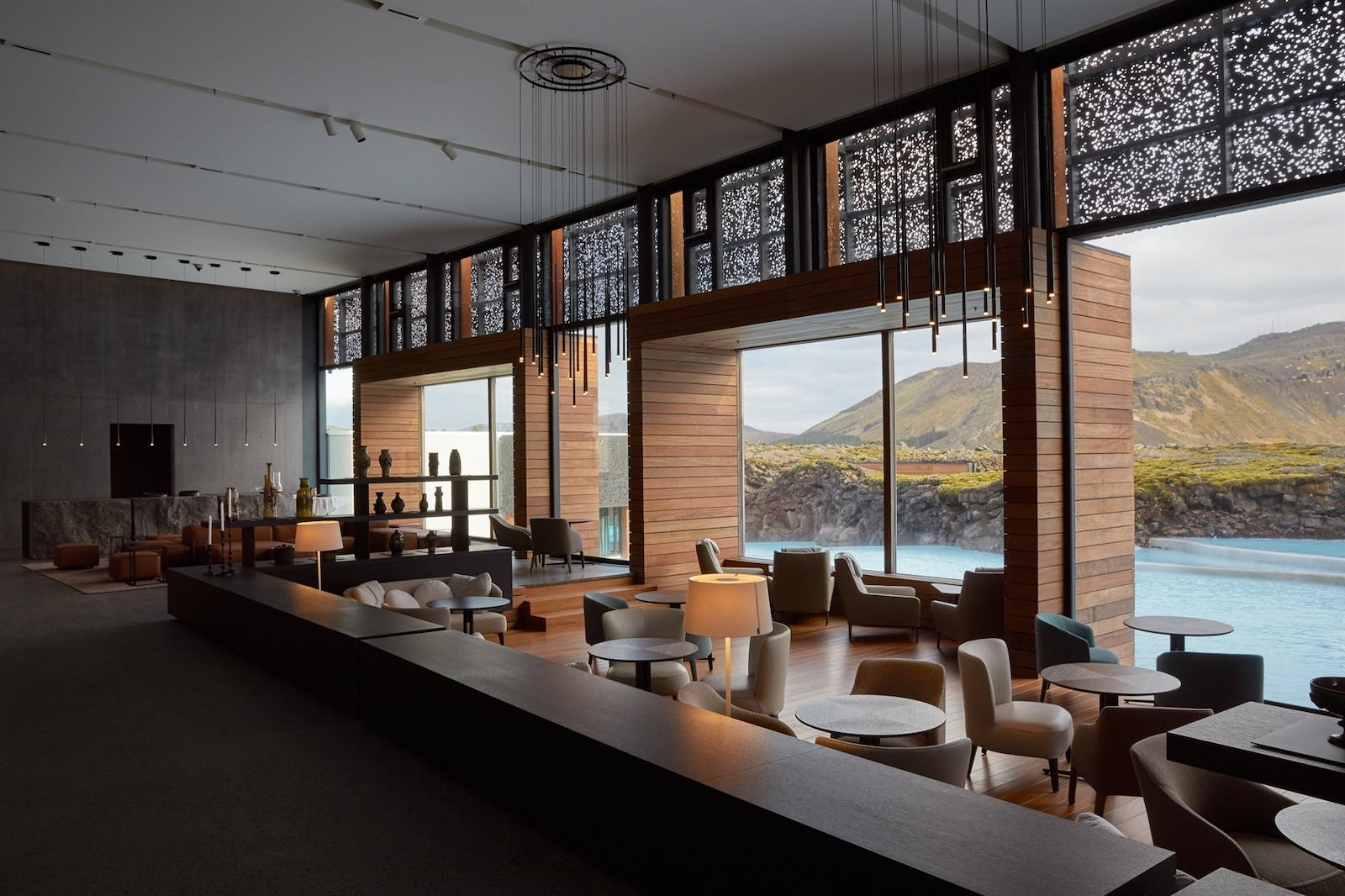 Lobby, Retreat Hotel, Iceland