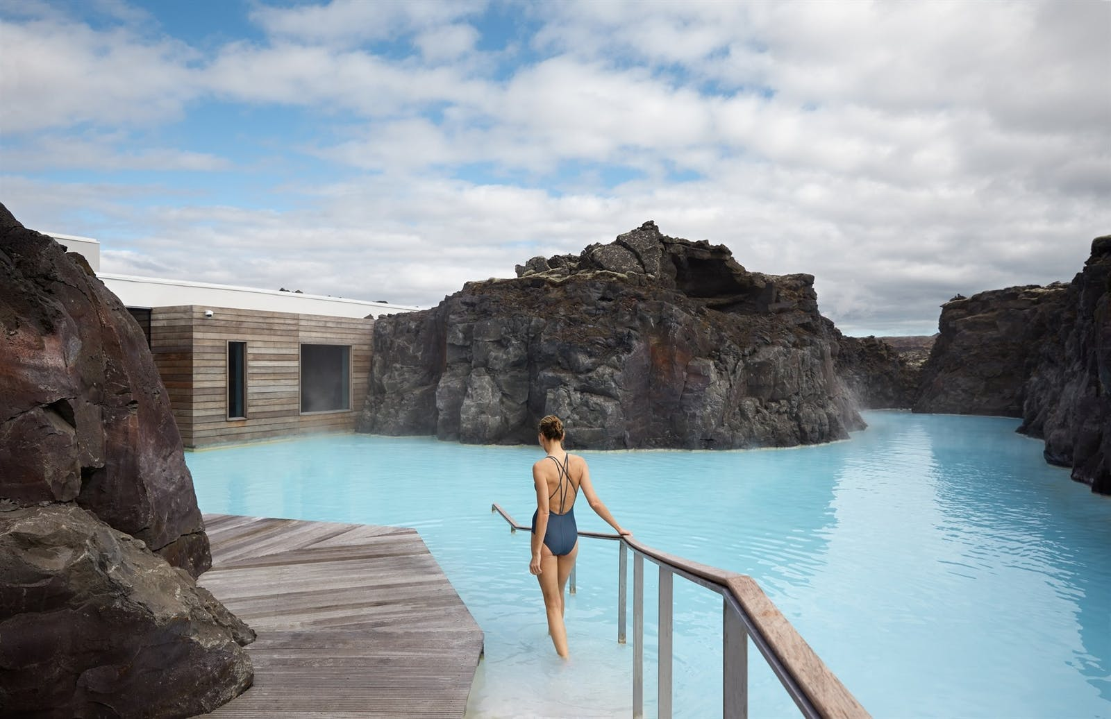 Spa lagoon, Retreat Hotel, Iceland