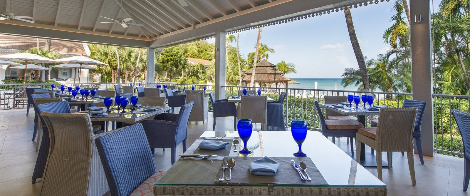 Palm Restaurant at Blue Waters, Antigua