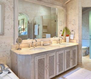 Bathroom at Bluff House, Barbados