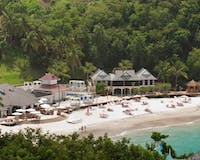 Beach Area at BodyHoliday, St Lucia