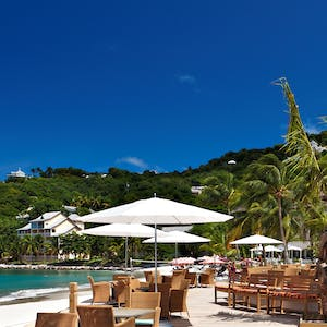 Beach at BodyHoliday, St Lucia