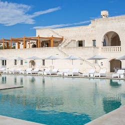Swimming Pool at Borgo Egnazia, Pulgia, Italy