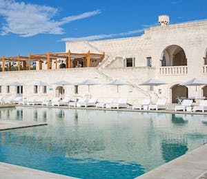 Swimming pool at Borgo Egnazia, Pulgia